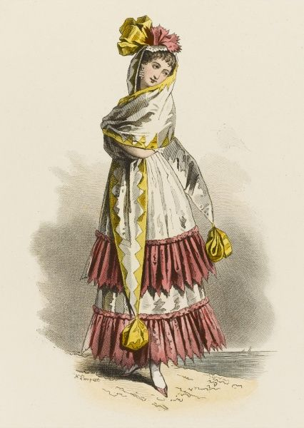 A young woman of Cadiz