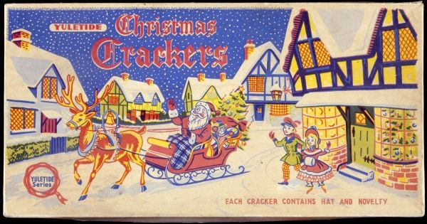Colour illustration taken from a Christmas cracker box