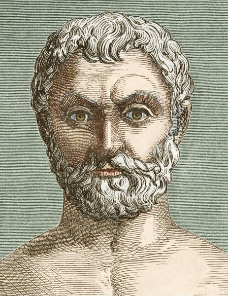 ideas of anaxamander of miletus a philosopher The merits of the milesians the philosophers of the port city miletus in a significant advance in anaximander's philosophy is his appreciation of what is.