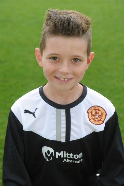 12/08/13 Motherwell Youth team. Matthew Connelly