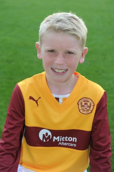 12/08/13 Motherwell Youth team. Jake Inglis