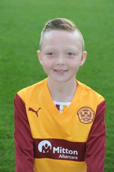 12/08/13 Motherwell Youth team. Josh Learmonth