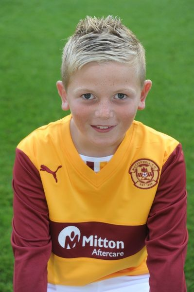 12/08/13 Motherwell Youth team. Josh Nicklin