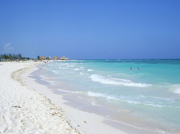 Beach, Playa del Carmen