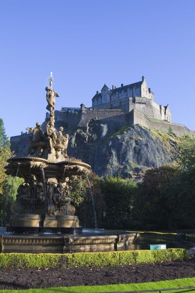 Edinburgh Castle, Edinburgh, Lothian, Scotland, United Kingdom, Europe