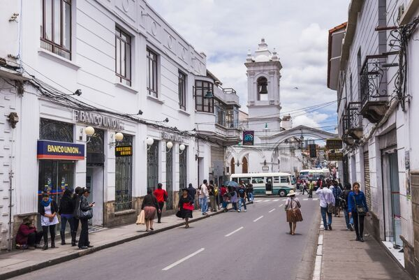 Historic City of Sucre, UNESCO World Heritage Site, Bolivia, South America