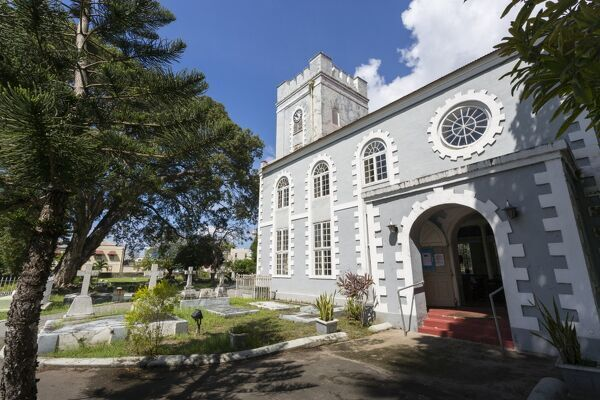 St. Mary's Church, Bridgetown, St. Michael, Barbados, West Indies, Caribbean, Central