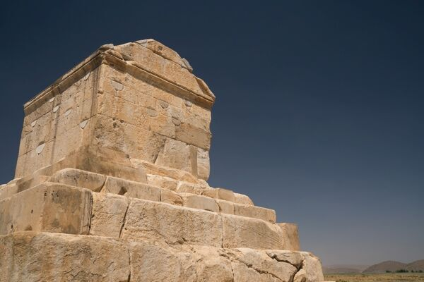 Tomb of Cyrus the Great, 576-530 BC, Pasargadae, UNESCO World Heritage Site, Iran