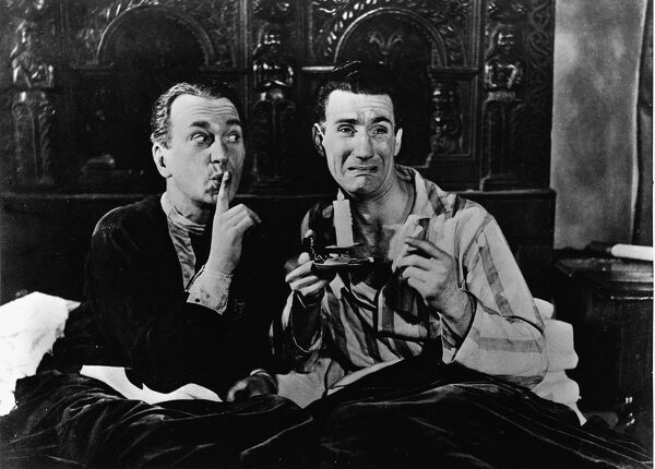 Ben Wrigley and Richard Thorpe in Melody in the Dark (1949)