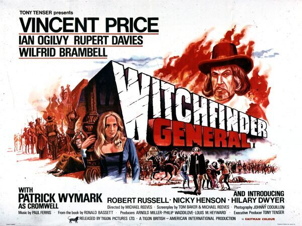 Vincent Price Ian Ogilvy Rupert Davies Wilfred Brambell Patrick Wymark as Crowmwell Robert Russell Nicky Henson Hilary Dwyer