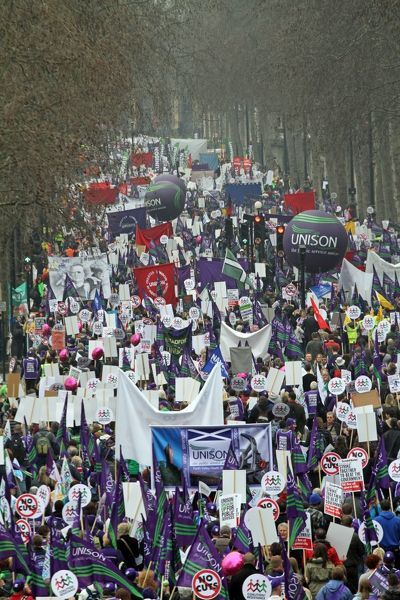March for the Alternative anti-government demonstration, London