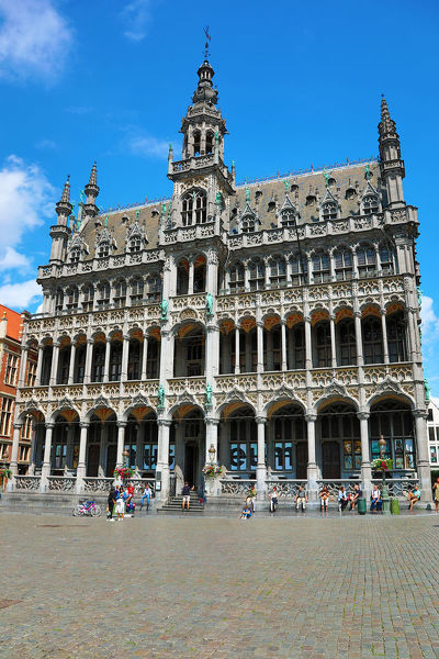 Museum of the City of Brussels in the Grand Place or Grote Markt, Brussels, Belgium