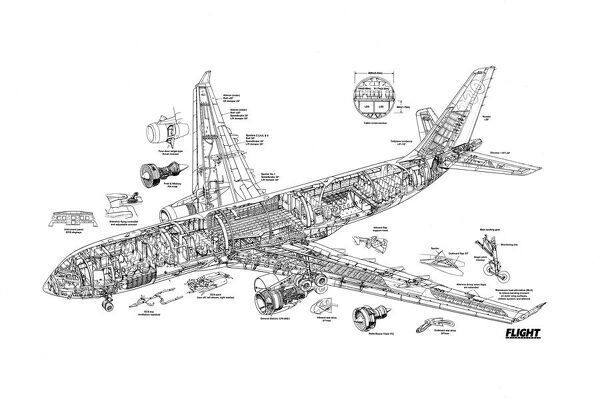 list of synonyms and antonyms of the word  a330 cutaway