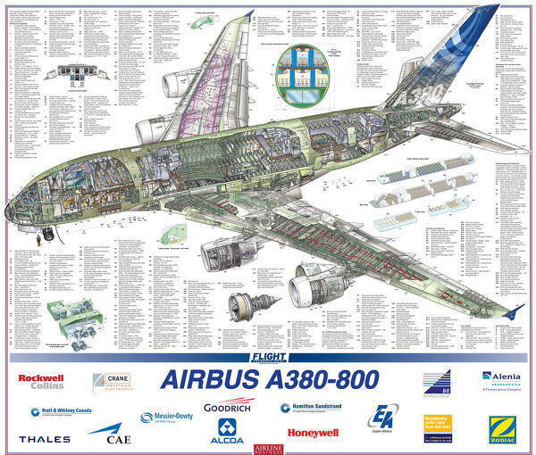 In 2010, Airbus announced a new A380-800 build standard incorporating a strengthened air frame structure and a 1