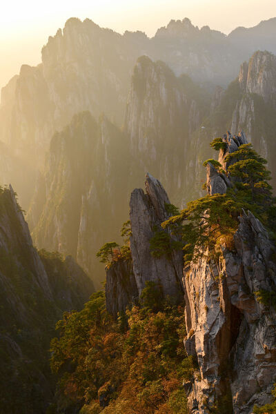 Asia, China, Anhui Province, Mount Huangshan, UNESCO, Yellow Mountain