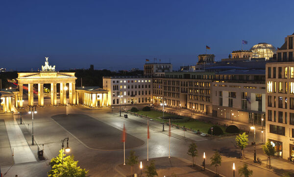 Brandenburg Gate & Pariser Platz, Berlin, Germany