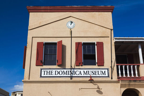 Dominica, Roseau, the Dominica Museum