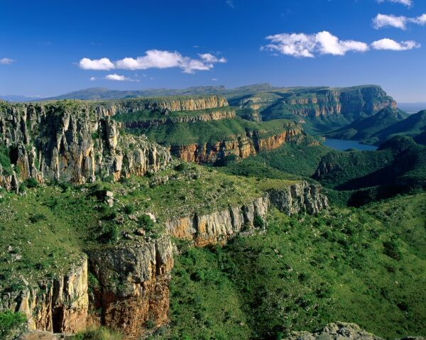 Drakensberg Mountains / Blyde River Canyon, Natal, South Africa