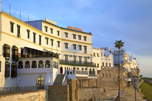 Exterior of Hotel Continental, Tangier, Morocco, North Africa