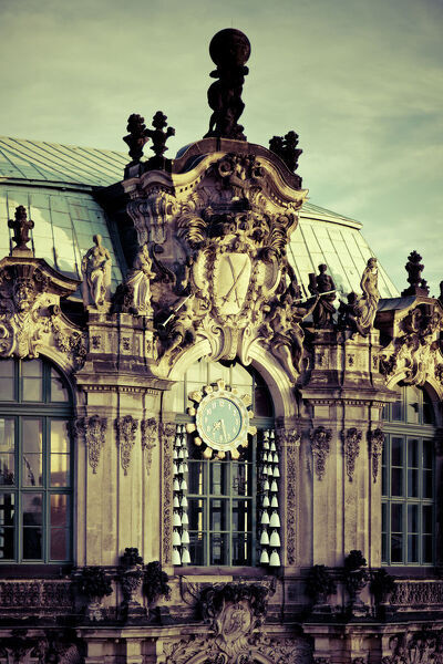Germany, Saxony, Dresden, Old Town, Zwinger Fortress