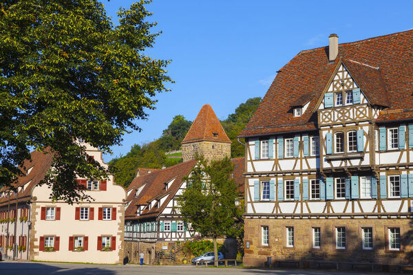 Half Timbered Houses in the Medieval Cistercian monastery (Kloster Maulbronn) listed