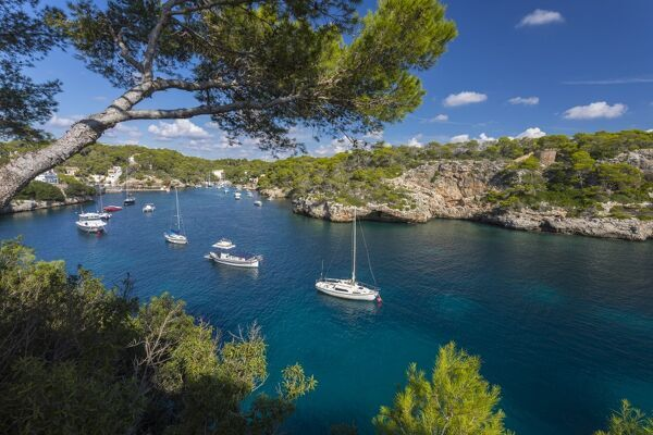 Harbour of Cala Figuera, Mallorca (Majorca), Balearic Islands, Spain