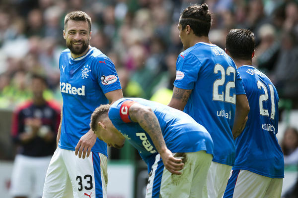 Rangers' Russell Martin during the Ladbrokes Premiership match at Easter Road, Edinburgh