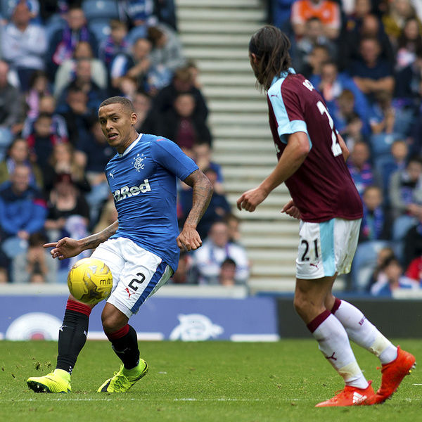 Rangers' James Tavernier during the friendly match at Ibrox Stadium, Glasgow