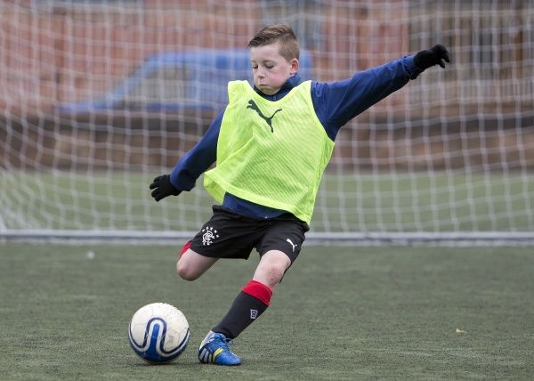 The Rangers Soccer School at the Ibrox complex