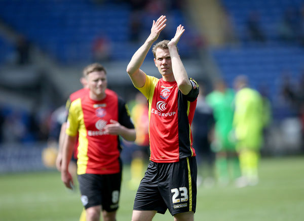 Birmingham City's Jonathan Spector thanks the away fans after the final whistle