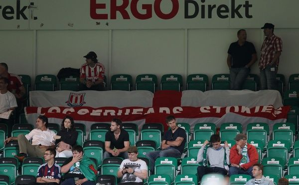 spvgg greuther f rth v stoke city friday 10th august 2012 photo prints 7649623 media. Black Bedroom Furniture Sets. Home Design Ideas