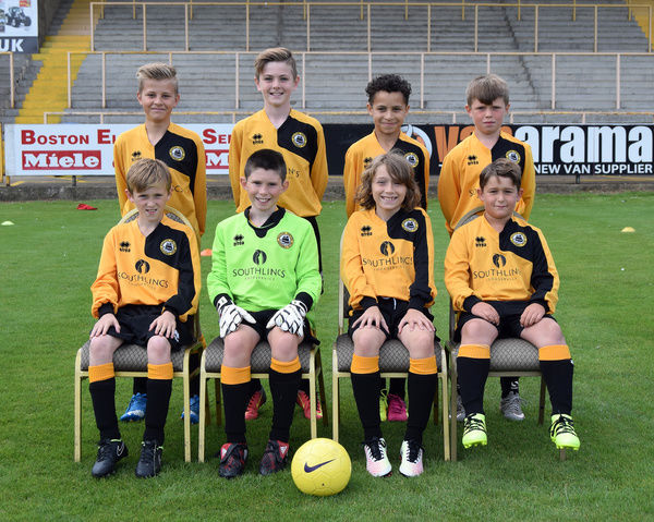 Boston United FC BUCFC Team Photos 2016 : 17: Under 11 Marcus Cain