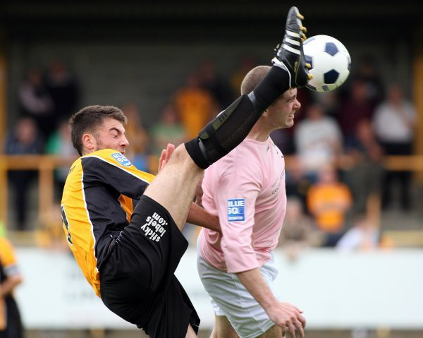 Boston United FC Season 2011-2012: Boston United 0-1 Solihull Moors