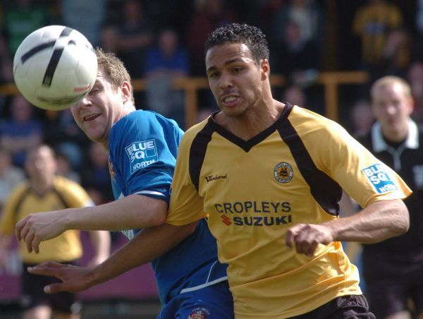 Boston United FC Season 2007-2008: Boston United 2-1 Hyde United