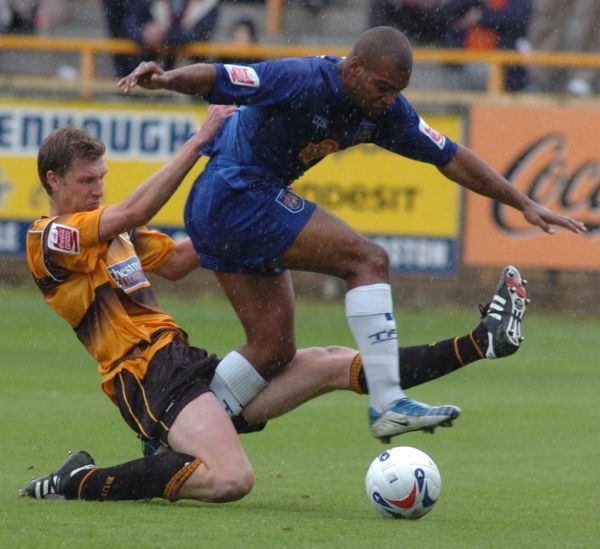 Boston United FC Season 2005-2006: Boston United 2-2 Stockport County