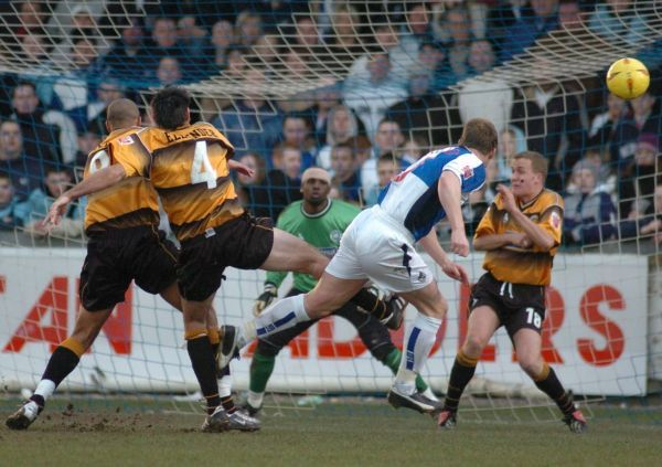 Boston United FC Season 2004-2005: Bristol Rovers 1-1 Boston United