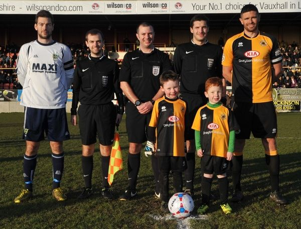 Guiseley 24/01/2015. Boston United FC Matchday Photographs: Guiseley 24/01/2015
