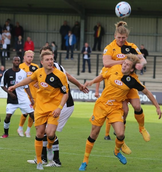 Boston United FC Season 2015-2016: Hednesford Town 3-2 Boston United 05/09/2015