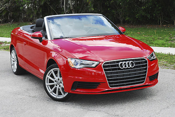 Audi A3 Cabriolet 2017 Red