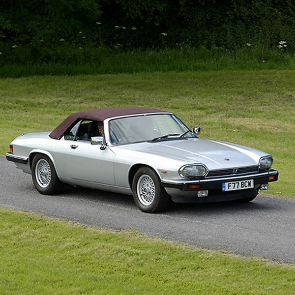 jaguar print framed roof library photo dark xjs red silver as a car convertible