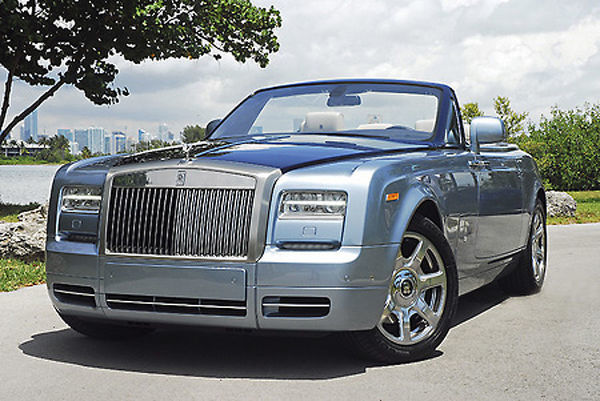 Rolls-Royce Phantom Drophead Coupe 2015 Blue 2-tone