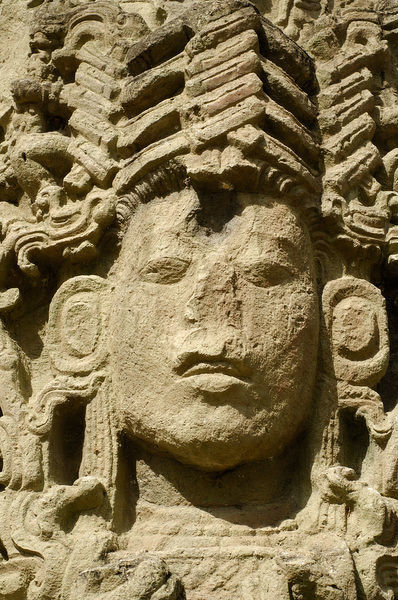 Central America, Honduras, Copan (aka Xukpi in Maya). Ruins of Classic Period Mayan civilization