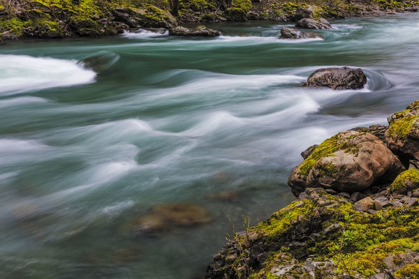 The Elwha River in Olympic National Park, Washinton, USA