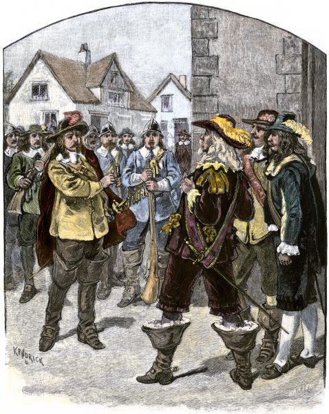 Account of the bacon rebellion