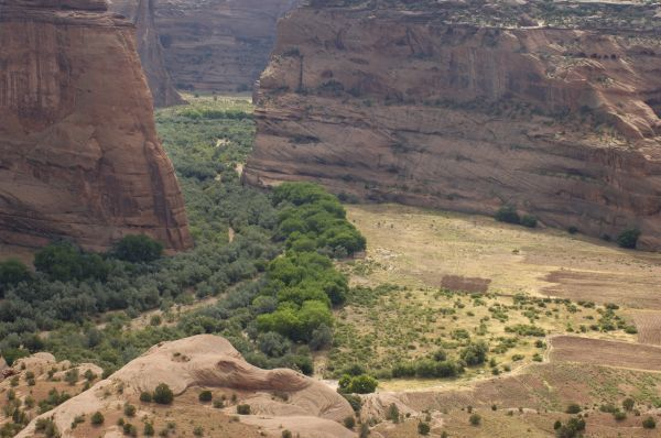 Canyon de Chelly, on the Navajo Nation Reservation, Arizona. Digital photograph