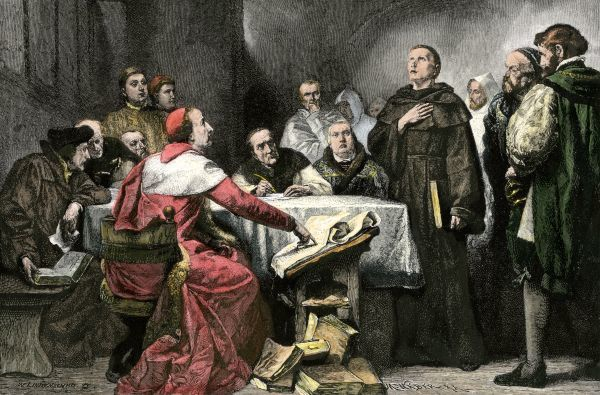 who won diet of worms