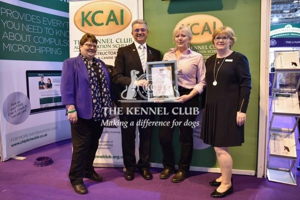 3pm: KCAI accreditation presentations on the KCAI stand.   In photo: Lez Graham