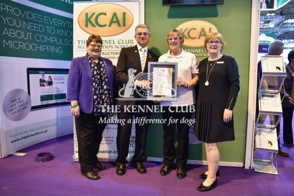 3pm: KCAI accreditation presentations on the KCAI stand.   In photo: Martha Brindley