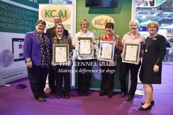3pm: KCAI accreditation presentations on the KCAI stand.   In photo (awarded): Lez Graham, Corrine Kennedy, Diane Jones, Martha Brindley