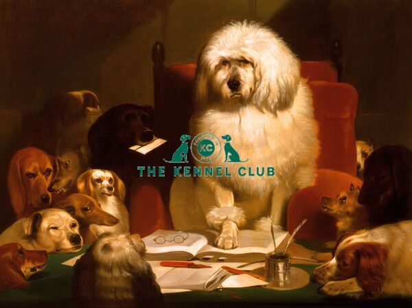 Landseer helped popularise anthropomorphism in art and this is a copy of one of his best-known examples